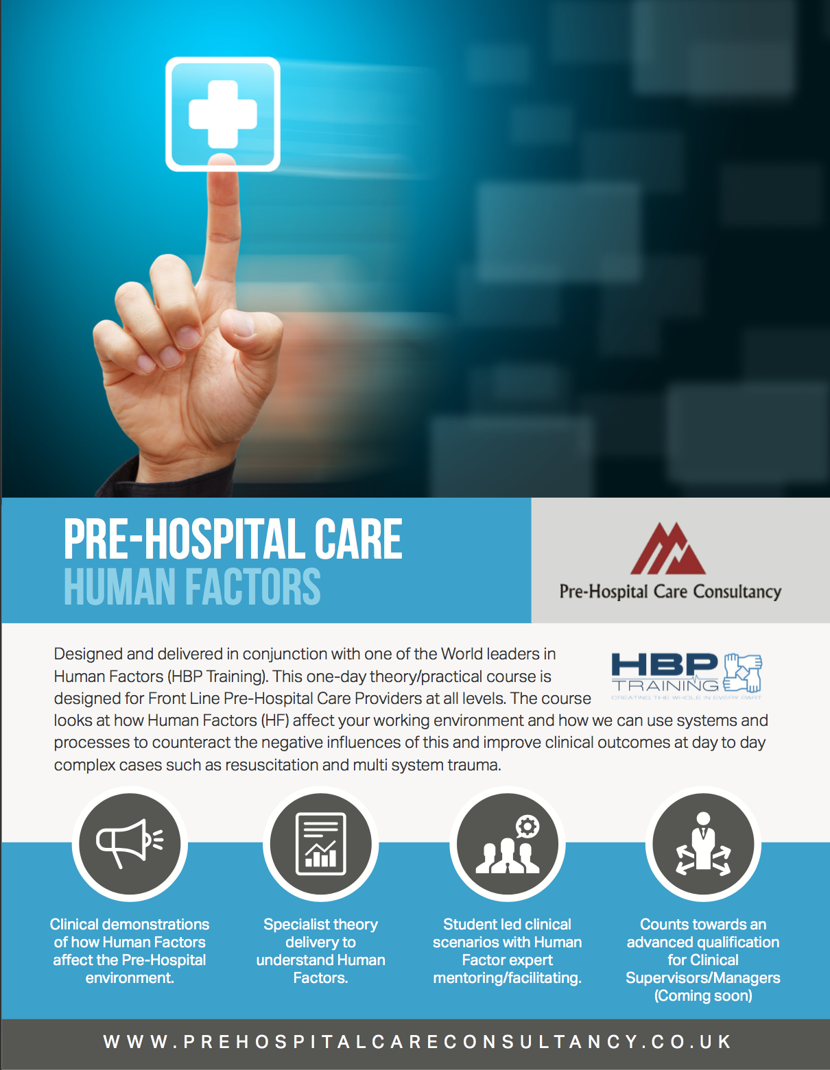 Pre-Hospital-Care-Human-factors-course-information